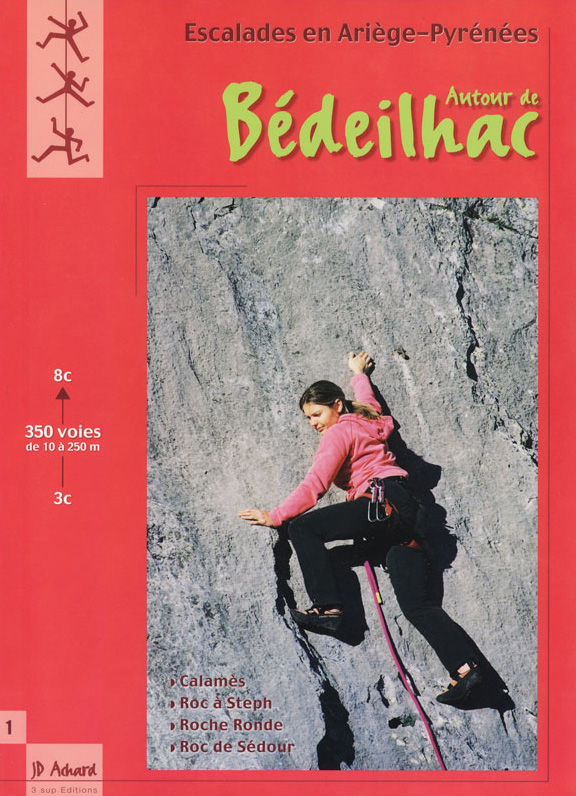 Topo escalade Bedeilhac