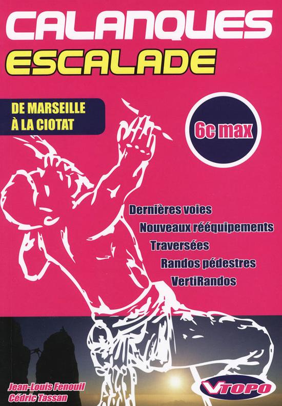 Topo escalade Calanques 6c max