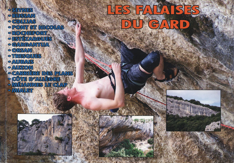Topo escalade Gard