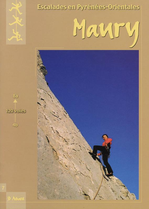 Topo escalade Maury