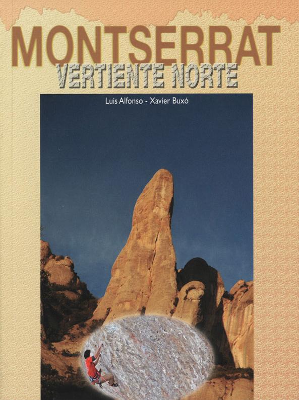 Topo escalade Montserrat Vertiente Norte