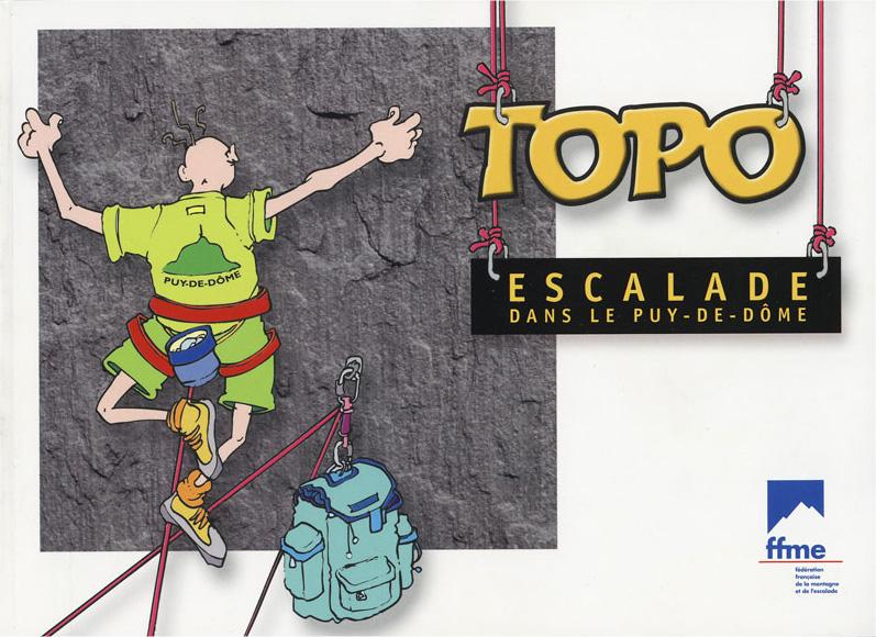 Topo escalade Puy de Dome
