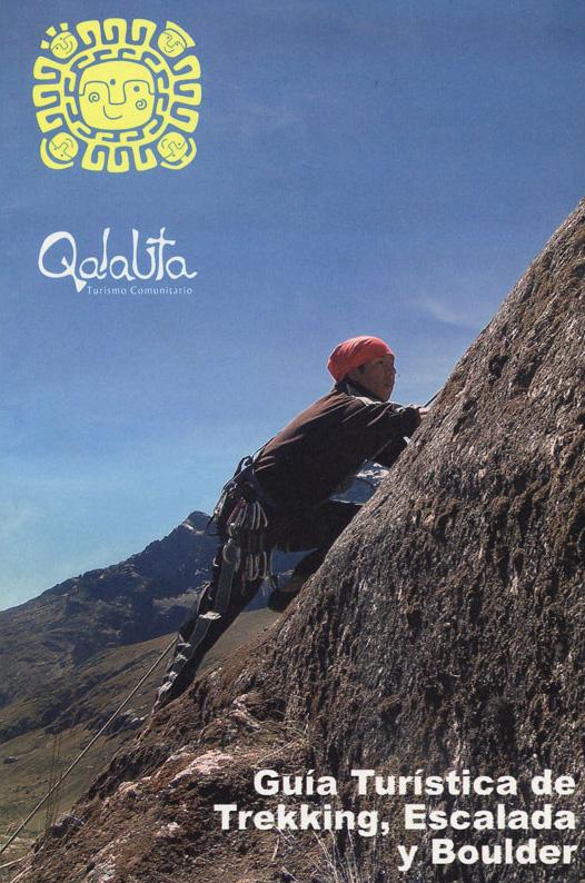 Topo escalade Qalauta - Bolivie