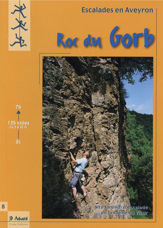 Topo escalade Roc du Gorb