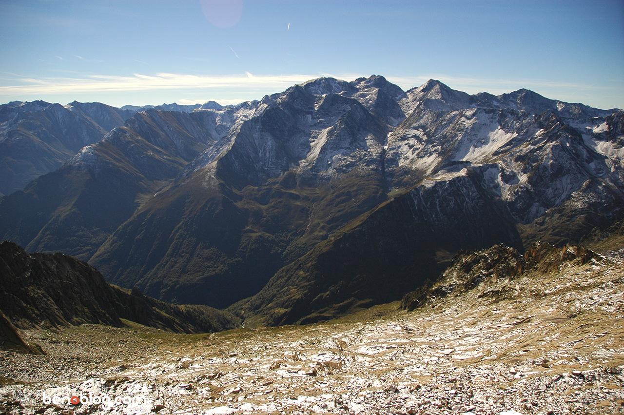 mais aussi sur le massif du Montcalm