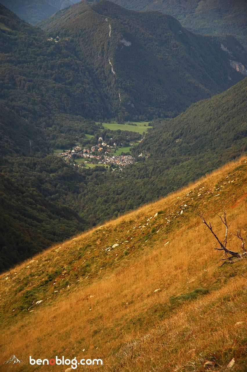 Le petit village d'Aulus les Bains