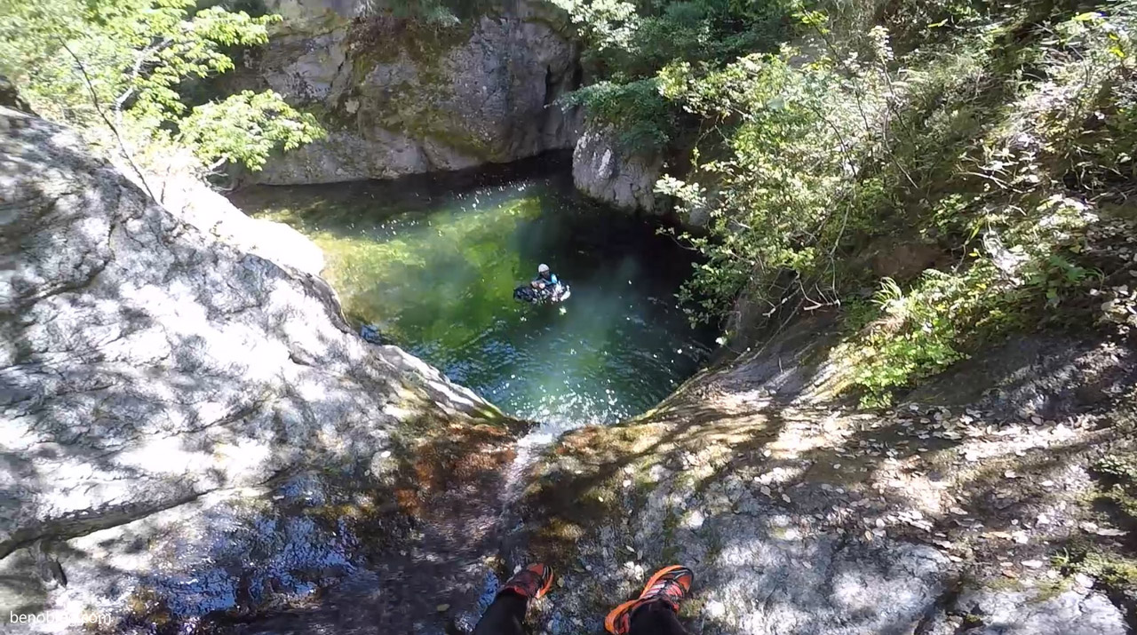 Canyon du Mas Calsan - Pyrénées Orientales
