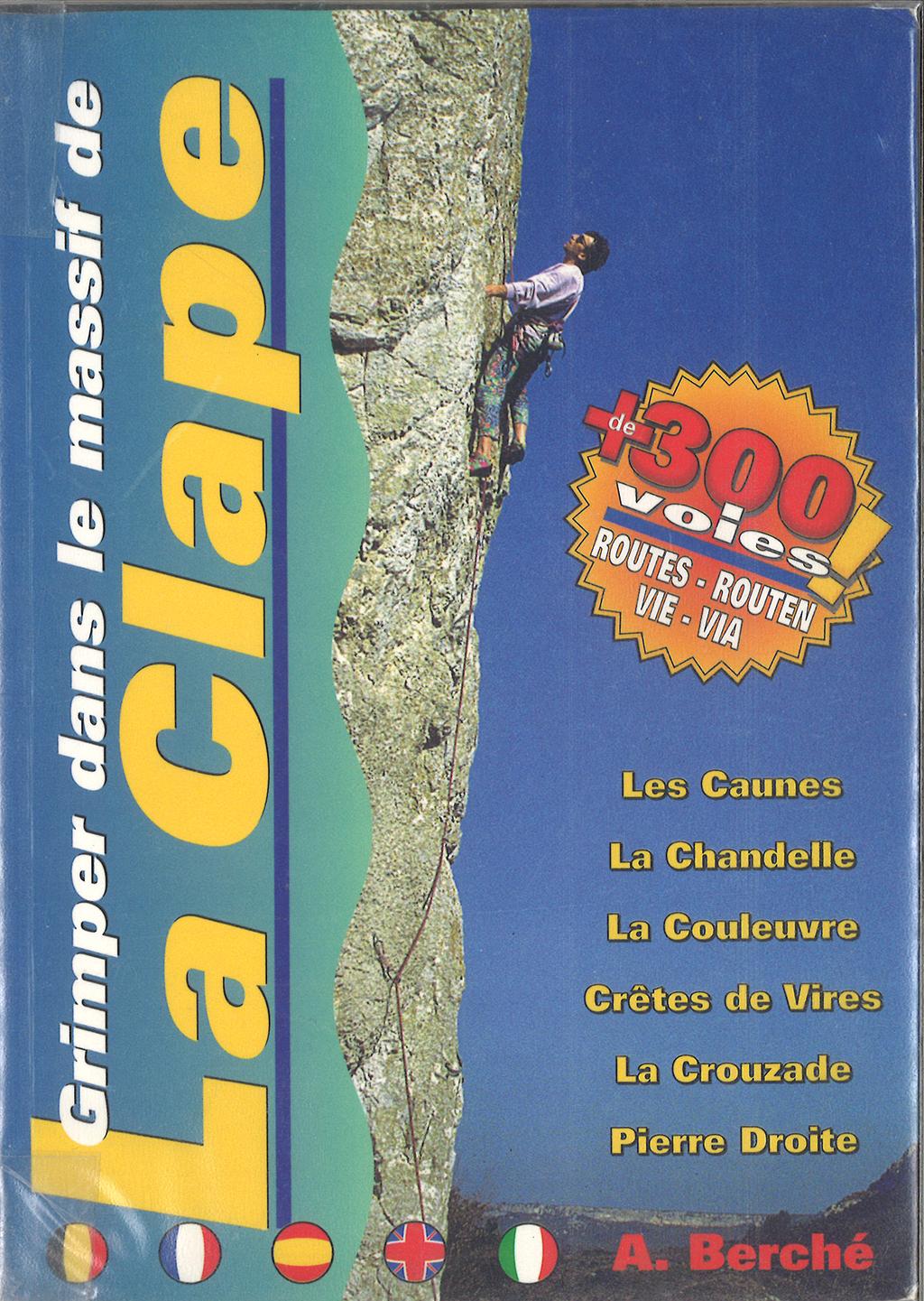 Topo escalade La Clape 1996