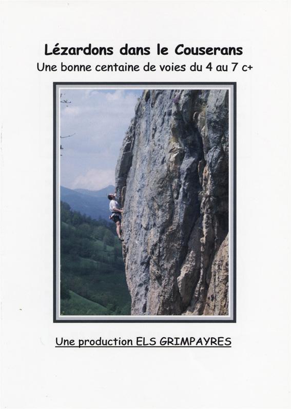 Topo escalade Couserans