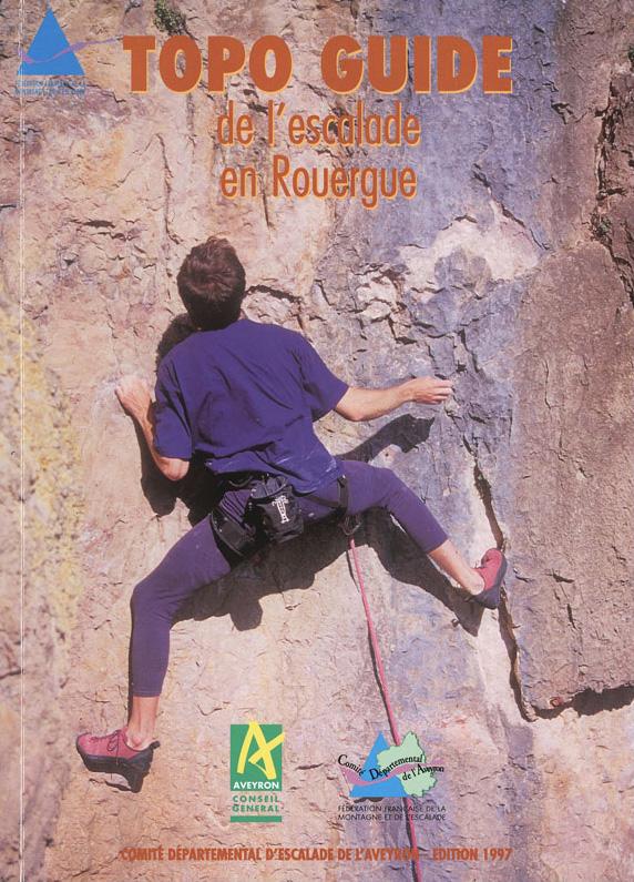 Topo escalade Rouergue