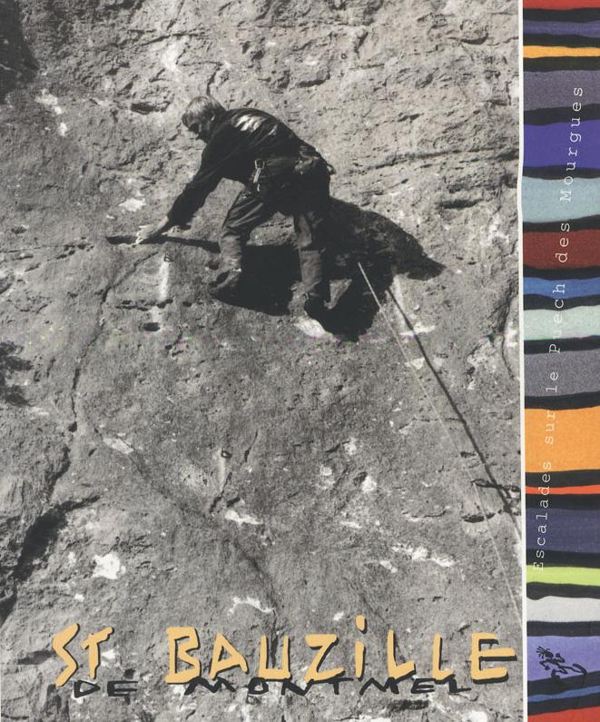 Topo escalade Saint Bauzille de Montmel