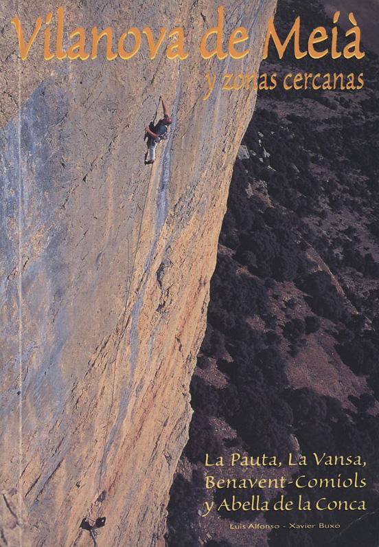 Topo escalade Vilanova de Meia
