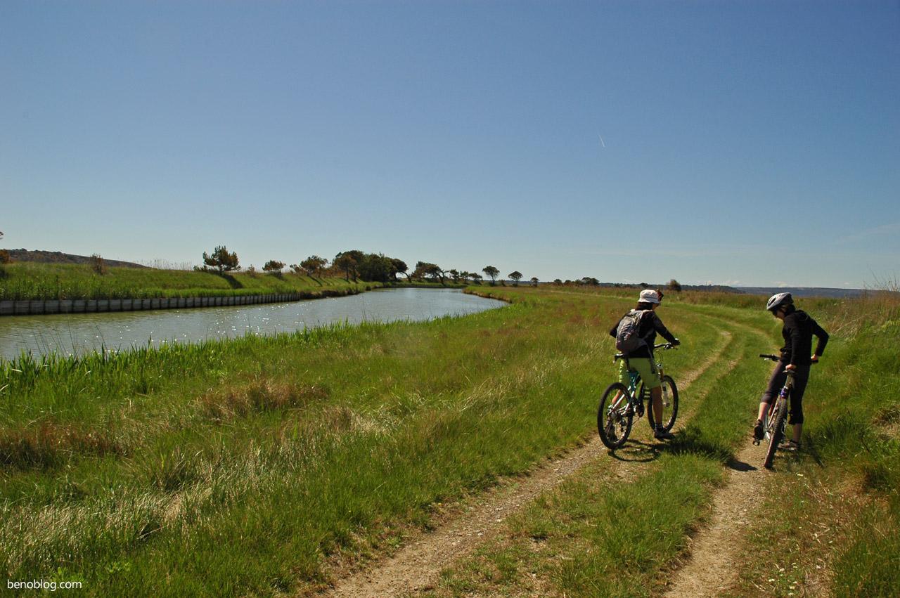Rando vélo canal de la Robine