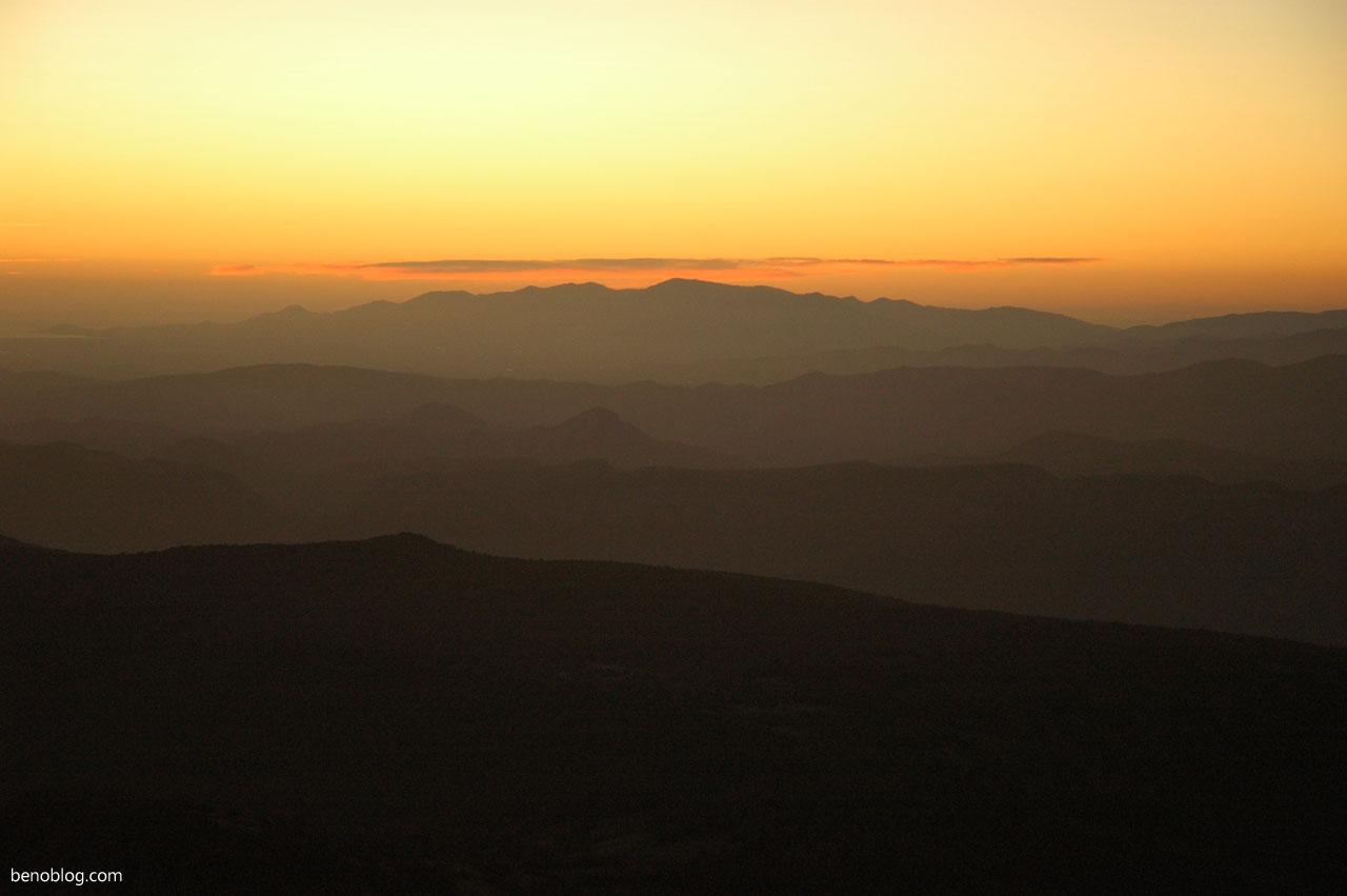 Lever de soleil Bugarach