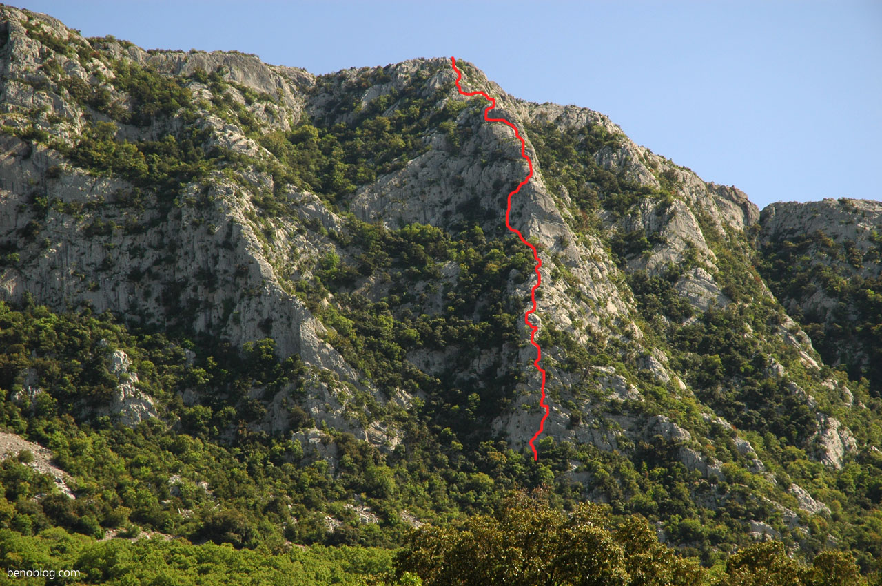 Escalade Pic Saint Loup