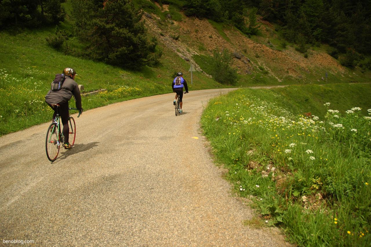 Boucle cyclo col de Pailhères