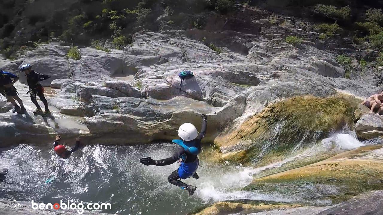 Canyon Clue du Terminet - Aude