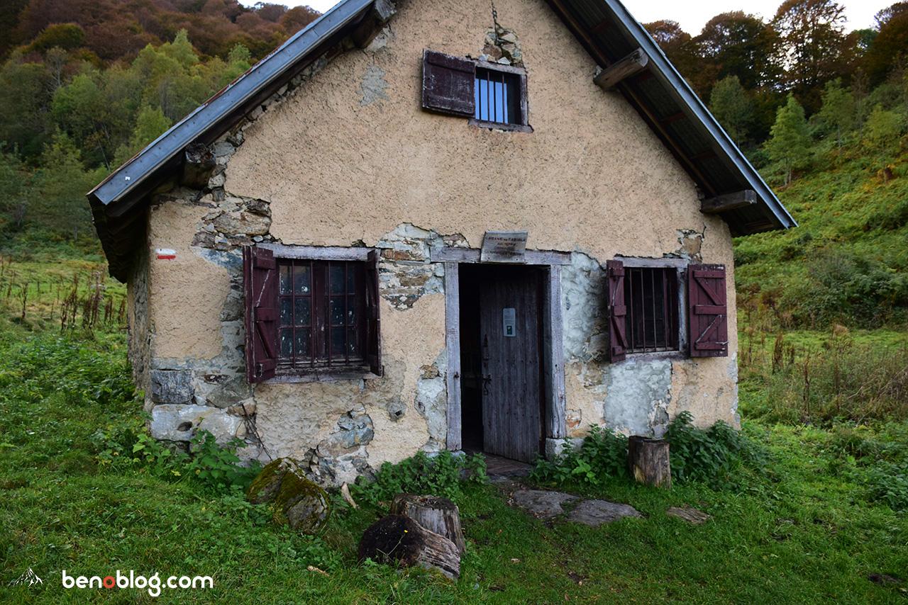 La cabane de Tariolle, notre abri pour la nuit
